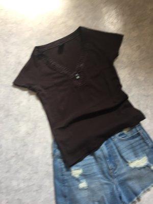 Esprit T-Shirt in Braun Größe S