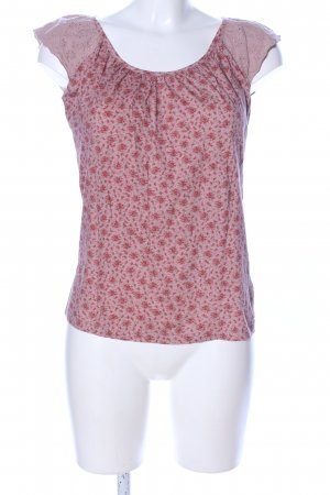 Esprit T-Shirt pink-rot Allover-Druck Casual-Look
