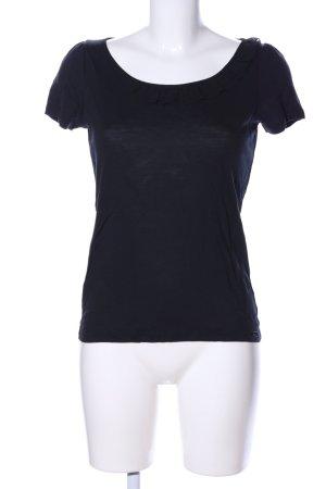 Esprit T-shirt czarny W stylu casual