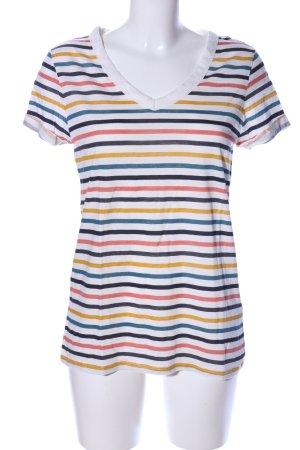 Esprit T-Shirt Streifenmuster Casual-Look