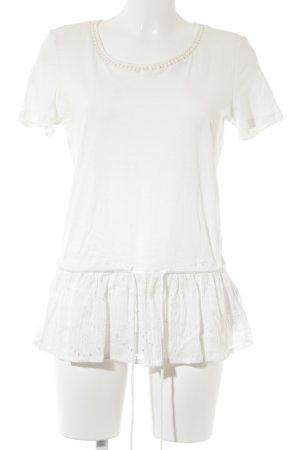 Esprit T-Shirt wollweiß Casual-Look