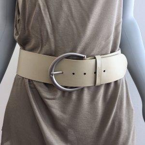 Esprit Waist Belt beige-cream imitation leather