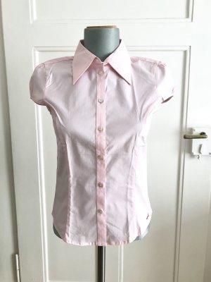 ESPRIT taillierte Kurzarm-Bluse, Größe 34, NEU