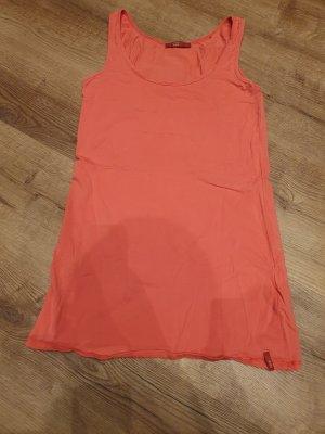 Esprit Długa koszulka pomarańczowy
