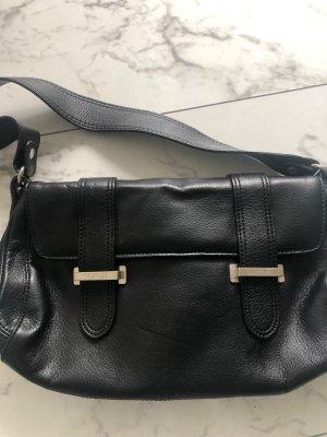 Esprit Tasche schwarz Leder