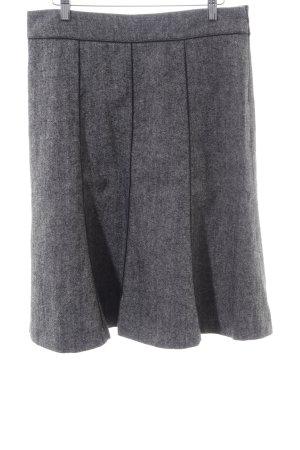 Esprit Falda circular gris claro moteado estilo «business»