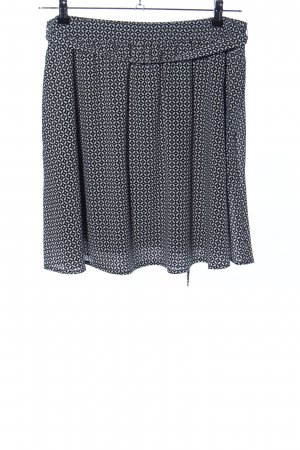 Esprit Cirkelrok zwart-wit volledige print casual uitstraling
