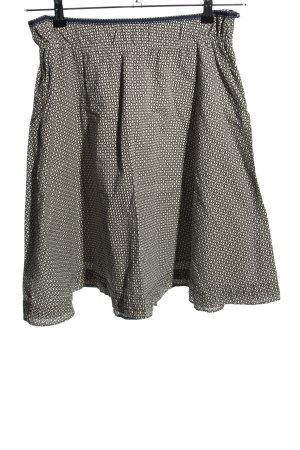 Esprit Tellerrock schwarz-weiß Allover-Druck Casual-Look