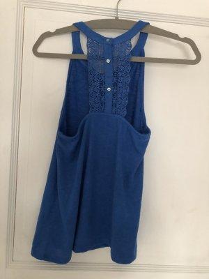 Esprit Crochet Top blue