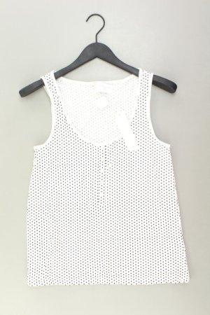 Esprit Top Größe L weiß aus Baumwolle