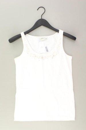 Esprit Top Größe M weiß aus Baumwolle