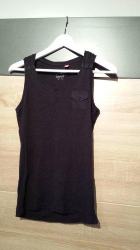 Esprit Basic topje zwart Katoen