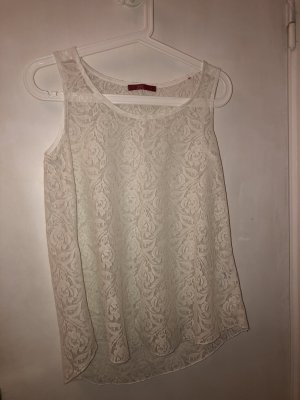 edc by Esprit Camisa de malla blanco