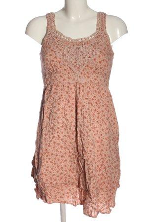 Esprit Trägerkleid pink-rot abstraktes Muster Casual-Look