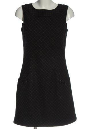 Esprit A-Linien Kleid schwarz grafisches Muster Business-Look