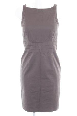Esprit Trägerkleid graubraun klassischer Stil