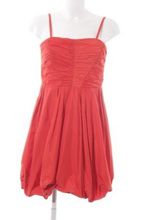 Esprit Trägerkleid rot extravaganter Stil