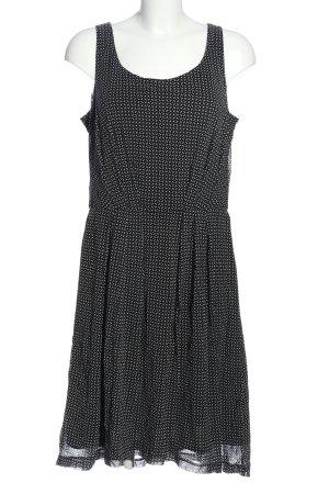 Esprit Trägerkleid schwarz-weiß Allover-Druck Casual-Look