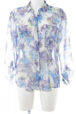 Esprit Transparenz-Bluse Blumenmuster Elegant