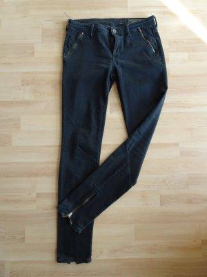 Esprit Slim jeans zwart Gemengd weefsel