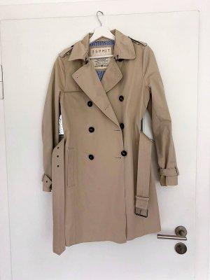ESPRIT Trenchcoat, beige, wie neu, Gr. 36