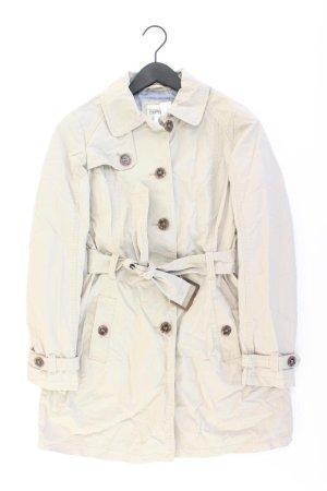 Esprit Trenchcoat Größe 36 mit Gürtel creme aus Baumwolle