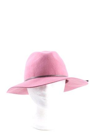 Esprit Chapeau feutre rose élégant