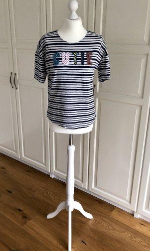 Esprit Tshirt XS Cutie blau weiss gestreift