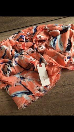 Esprit Écharpe d'été orange clair