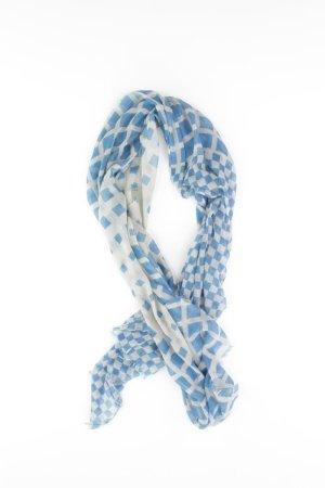 Esprit Zomersjaal blauw-neon blauw-donkerblauw-azuur