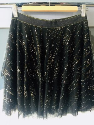 Esprit Tulle Skirt black-gold-colored