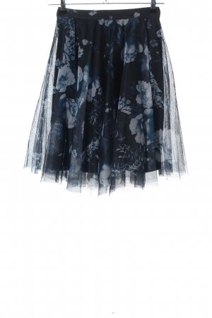 Esprit Tulle Skirt blue allover print casual look