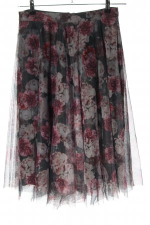 Esprit Tulle Skirt light grey-pink allover print elegant