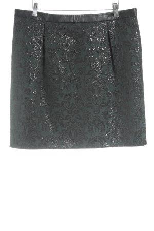 Esprit Spódnica w kształcie tulipana ciemnozielony-czarny Elegancki