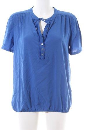 Esprit Tunikabluse blau Business-Look