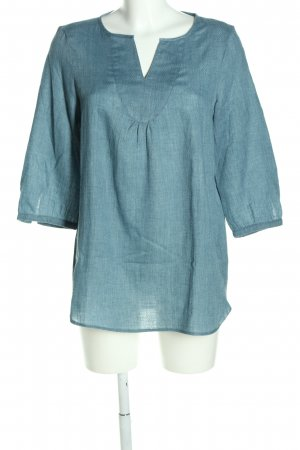 Esprit Tunic Blouse blue-white graphic pattern casual look