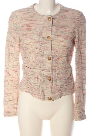 Esprit Tweed blazer roze gestippeld casual uitstraling