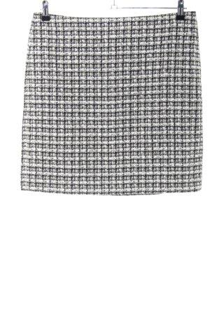 Esprit Gonna tweed bianco-nero stile casual