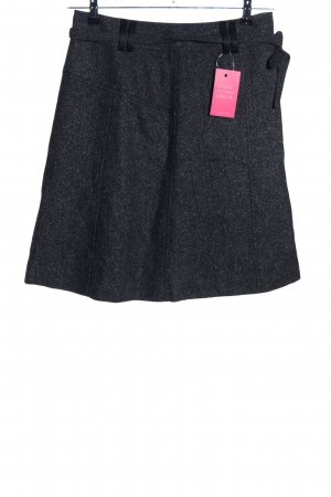 Esprit Tweed Skirt black flecked casual look