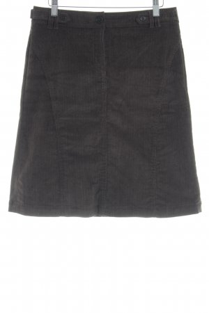 Esprit Tweed Skirt dark brown Logo application