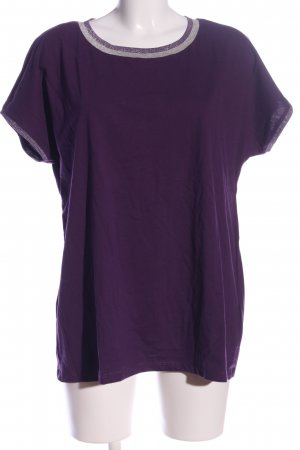 Esprit U-Boot-Shirt lila Casual-Look