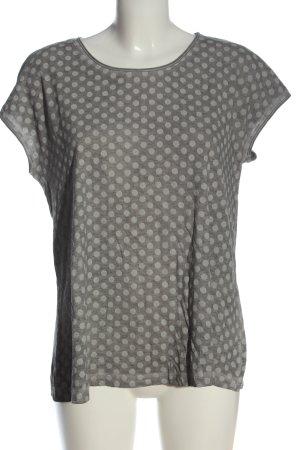 Esprit Boatneck Shirt light grey allover print casual look