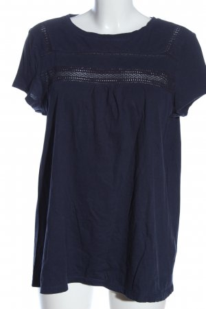 Esprit Short Sleeved Blouse blue casual look
