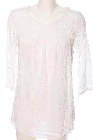 Esprit U-Boot-Shirt weiß Casual-Look