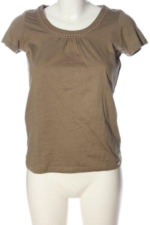 Esprit U-Boot-Shirt braun Casual-Look
