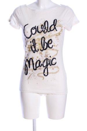 Esprit Boatneck Shirt printed lettering casual look