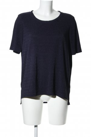Esprit Boothalsshirt blauw casual uitstraling