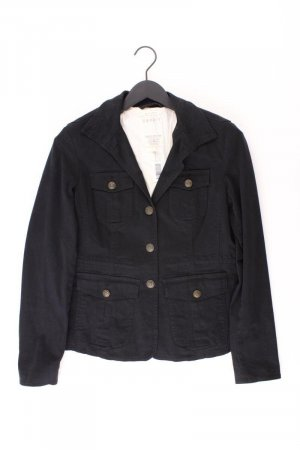 Esprit Übergangsjacke Größe 38 schwarz aus Baumwolle