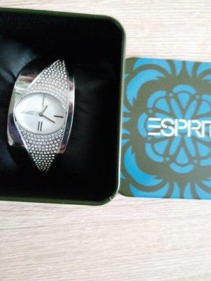 Esprit Fermoir de montre gris clair métal