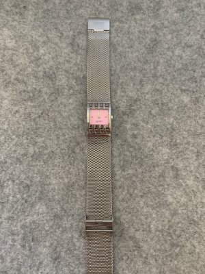 Esprit Self-Winding Watch silver-colored-light pink